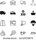 transport vector icon set such...
