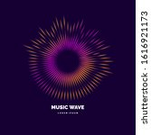 Sound Wave. Vector Illustratio...