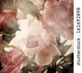 art floral vintage blurred... | Shutterstock . vector #161692898