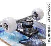 Modern Colorful Skateboard  ...
