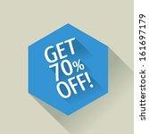 flat design sale discount 70 ...
