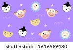 Animal Pattern Background With...