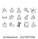set of icons for different... | Shutterstock .eps vector #1617057100