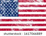 national flag of the united...   Shutterstock . vector #1617066889