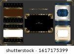 premium set of line thai modern ...   Shutterstock .eps vector #1617175399