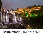 the furongzhen water in hunan...   Shutterstock . vector #1617216760