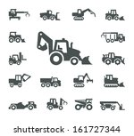 Construction equipment - stock vector
