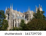 Duke University Chapel is located on the campus of Duke University in Durham, North Carolina and seats 1800 people.