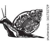 vector illustration of a totem... | Shutterstock .eps vector #161732729