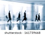 lobby in the rush hour is made... | Shutterstock . vector #161739668