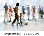 abstakt image of people mother... | Shutterstock . vector #161739698