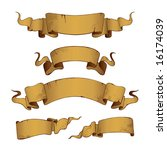 old banners  vector . in the... | Shutterstock .eps vector #16174039