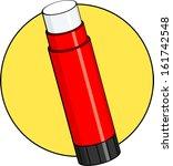 glue stick   Shutterstock .eps vector #161742548
