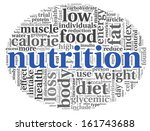 nutrition words concept in tag...   Shutterstock . vector #161743688