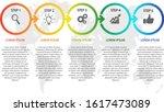 business infographic vector... | Shutterstock .eps vector #1617473089