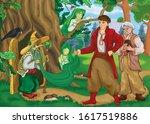 ukrainian folk tale about... | Shutterstock . vector #1617519886