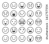 Set Of Smiley Icons  Different...
