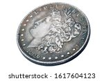 Old Vintage Silver Dollar From...