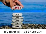 New Year 2021 Is Coming Concep...