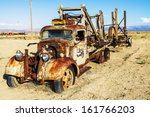 Vintage Truck Abandoned And...