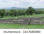 Grass Covered Pre Hispanic...