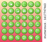 button icon set color green...