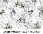 pattern summer hand drawn line...   Shutterstock .eps vector #1617762250