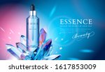 elegant essence ads with clear... | Shutterstock .eps vector #1617853009
