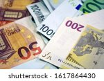 money  banknotes of fifty  one... | Shutterstock . vector #1617864430