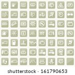 dashboard icons | Shutterstock .eps vector #161790653