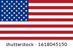 flag of the united states of... | Shutterstock .eps vector #1618045150
