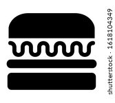 hamburger icon isolated sign...