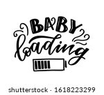 baby loading   cute hand drawn... | Shutterstock .eps vector #1618223299