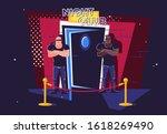 vector illustration of two...   Shutterstock .eps vector #1618269490