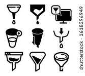 sorting icon isolated sign...