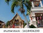 The Wat Tha Kheo In The City O...