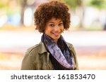 autumn outdoor portrait of... | Shutterstock . vector #161853470