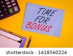 writing note showing time for... | Shutterstock . vector #1618560226