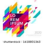 minimalistic design  creative... | Shutterstock .eps vector #1618801363