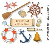 nautical collection 3 | Shutterstock .eps vector #161885048