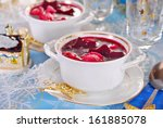 Traditional Polish Red Borscht...