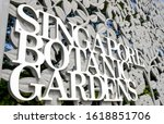 singapore 17 jan 2019  front... | Shutterstock . vector #1618851706
