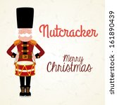 christmas design over  white...   Shutterstock .eps vector #161890439