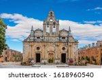 Church Of Monastery Arkadi On...