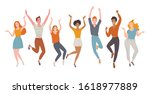 hello holidays  vector... | Shutterstock .eps vector #1618977889