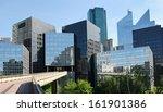 modern buildings in the... | Shutterstock . vector #161901386