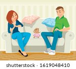 vector illustration of a... | Shutterstock .eps vector #1619048410