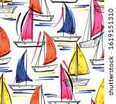 beautiful trendy hand drawn... | Shutterstock .eps vector #1619151310