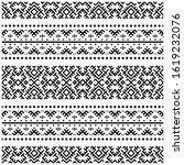 abstract motif from aztec...   Shutterstock .eps vector #1619232076