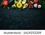 ripe vegetables. fresh...
